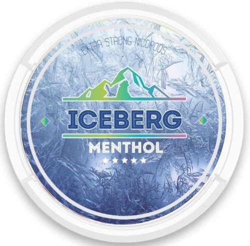 iceberg menthol nicotine pouches snus nicopods the pod block