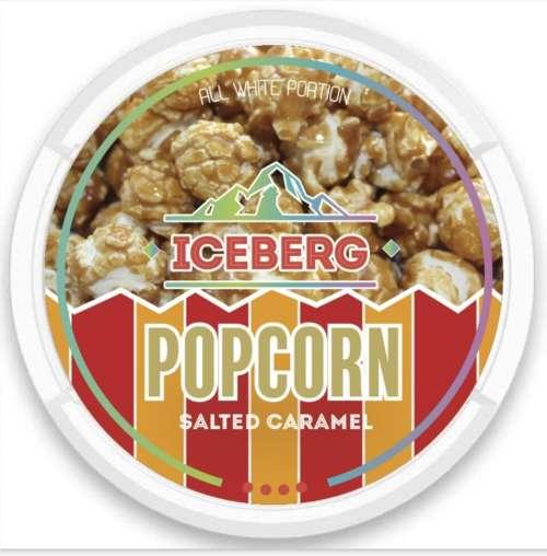 iceberg popcorn nicotine pouches snus nicopods the pod block