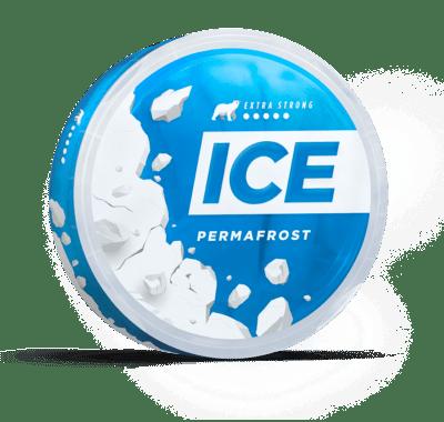 ICE permafrost snus nicotine pouches snus nicopods the pod block